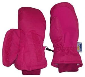 N'Ice Caps Kids Easy-On Wrap Impermeable Thinsulate Warm Winter Mitten