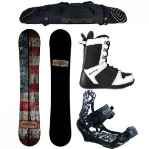 Paquete completo para hombres Camp Seven Drifter y APX 2019